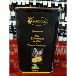 Olio al limone di Sorrento, 500 ml.