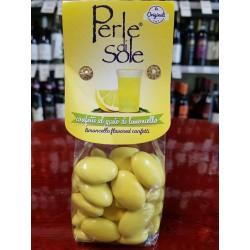 Limoncello flavored confetti, 150 gr.