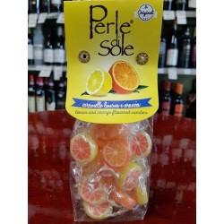 Caramelle Limone e Arancia, 200 gr.