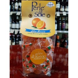 Orange flavored gelèes candies, 200 gr.