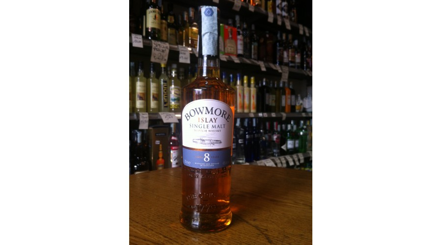 Bowmore 8 years old, 1 lt.