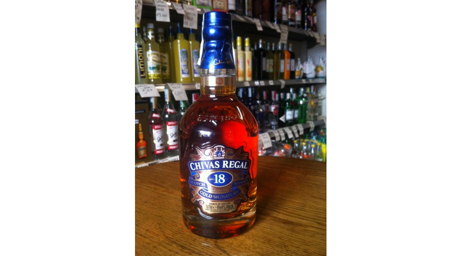 Chivas Regal 18 years old, 70 cl.