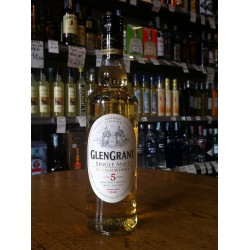 Glen Grant 5 years old, 1 lt.