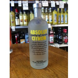 Vodka Absolute Citron 1 lt.
