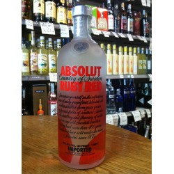 Vodka Absolut Ruby Red 1 lt.