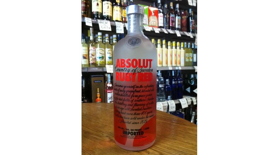 Vodka Absolut Ruby Red 1 lt.