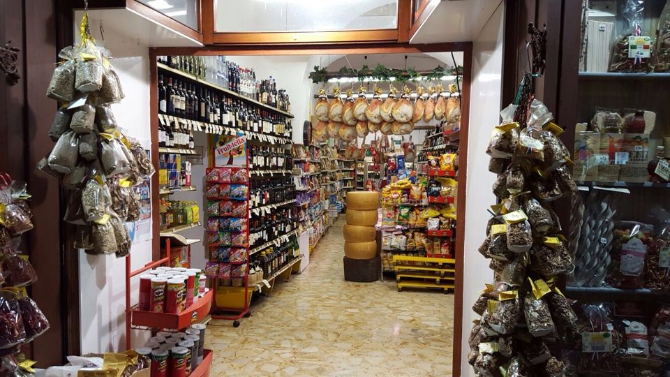 Salumeria in Sorrento city centre
